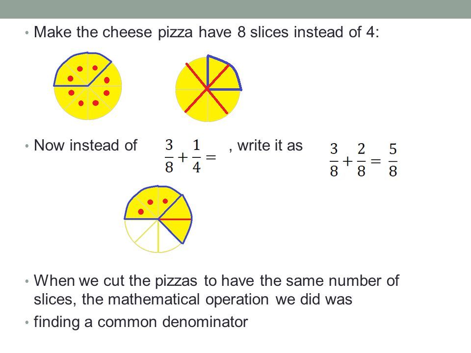 How do we add and subtract fractions.