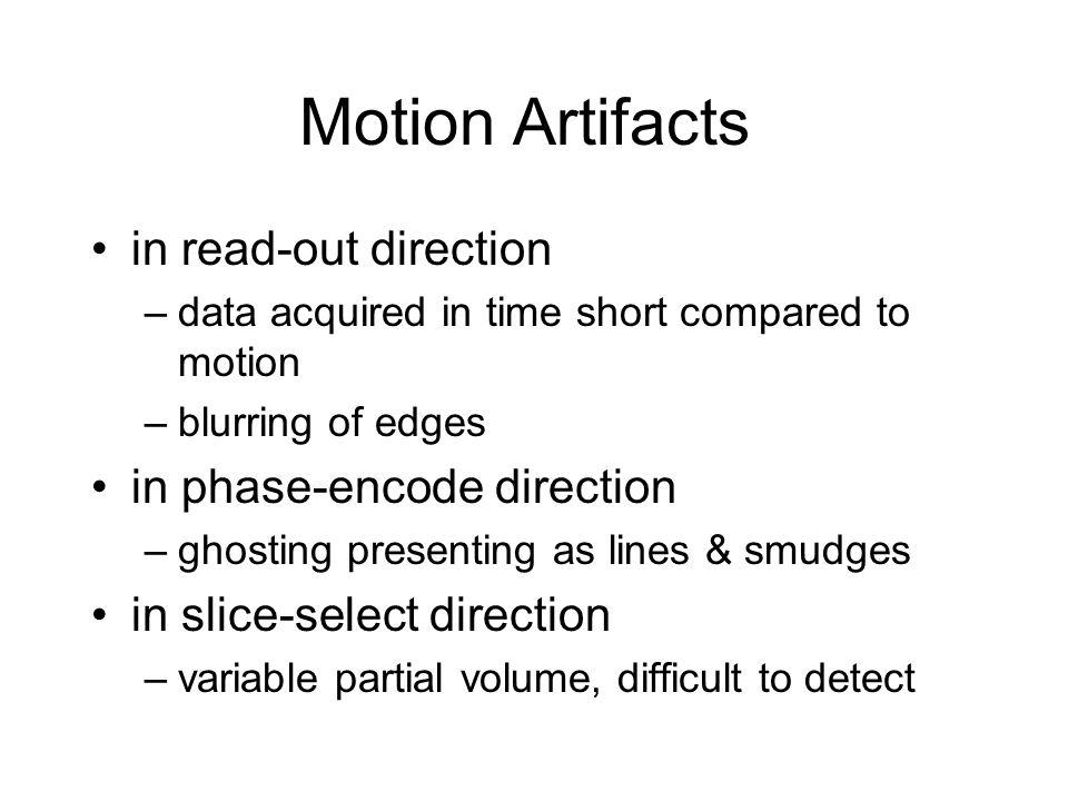 The MRI Signal: Amplitude & Phase Net Magnetization BoBoBoBo rf = B 1 Real Imaginary Real Imaginary