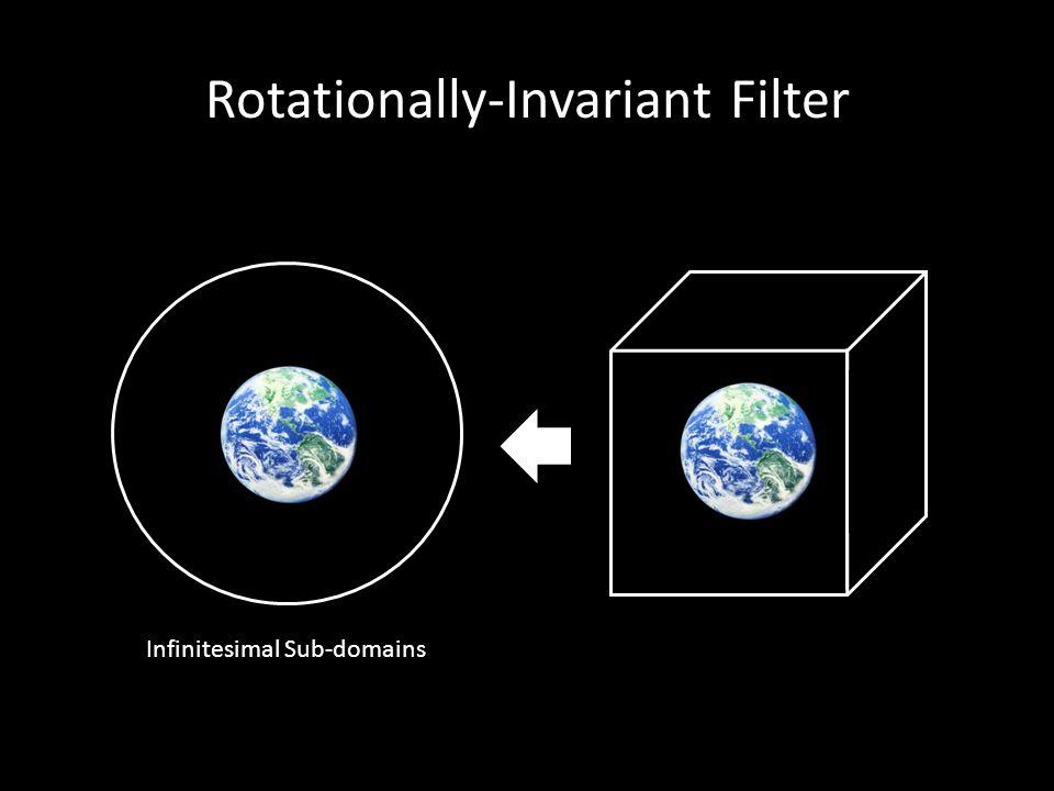 Rotationally-Invariant Filter Infinitesimal Sub-domains