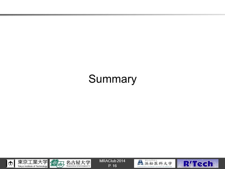 MRAClub 2014 Summary P. 16