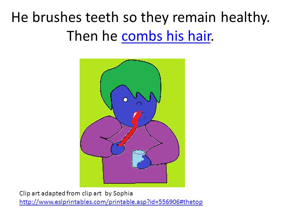 Keluk decides to take a nice hot shower. Next he brushes his teeth.brushes his teeth