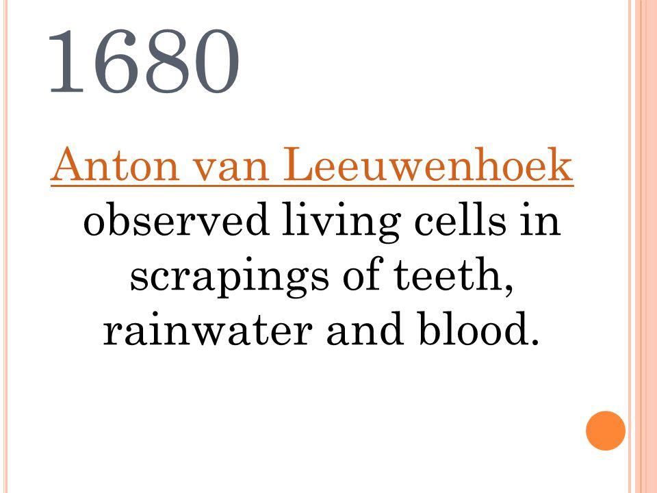 1838 Theodor Schwann (biologist) and Matthias Schleiden (physiologist) discover together that both animal cells and plants cells have nuclei.Theodor SchwannMatthias Schleiden