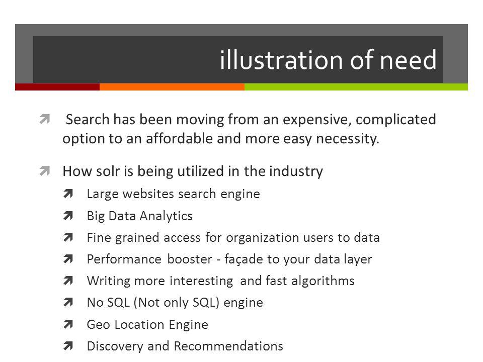 Alternatives  Elastic search  Sphinx  Xapian  OpenSearchServer