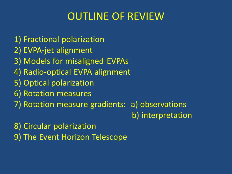 9) The Event Horizon Telescope M87: Broderick & Loeb 2009