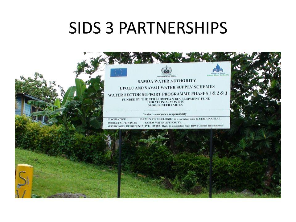SIDS 3 PARTNERSHIPS
