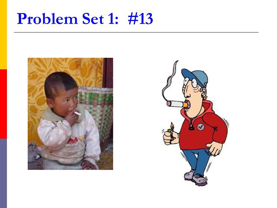 Problem Set 1: #13