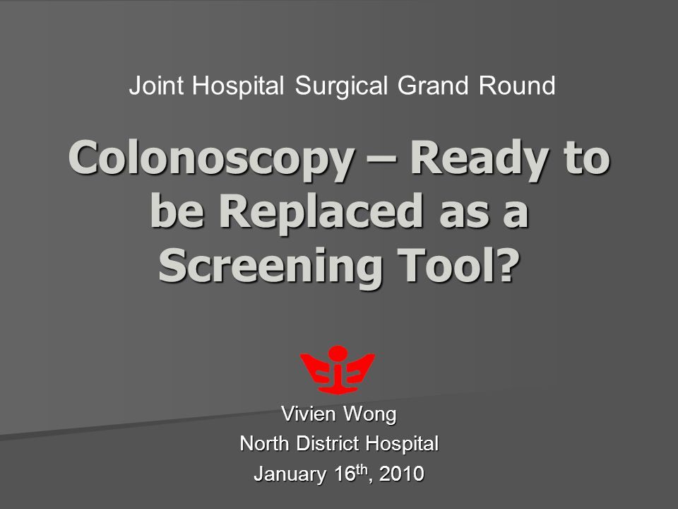 Colonoscopy – Ready to be Replaced as a Screening Tool.