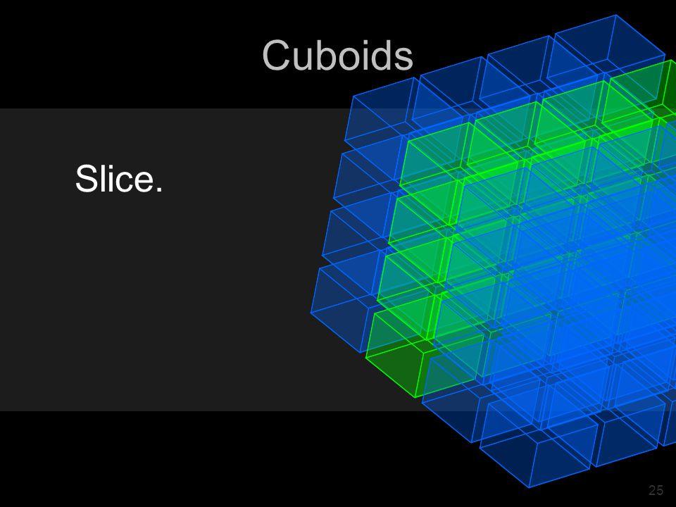 25 Cuboids Slice.