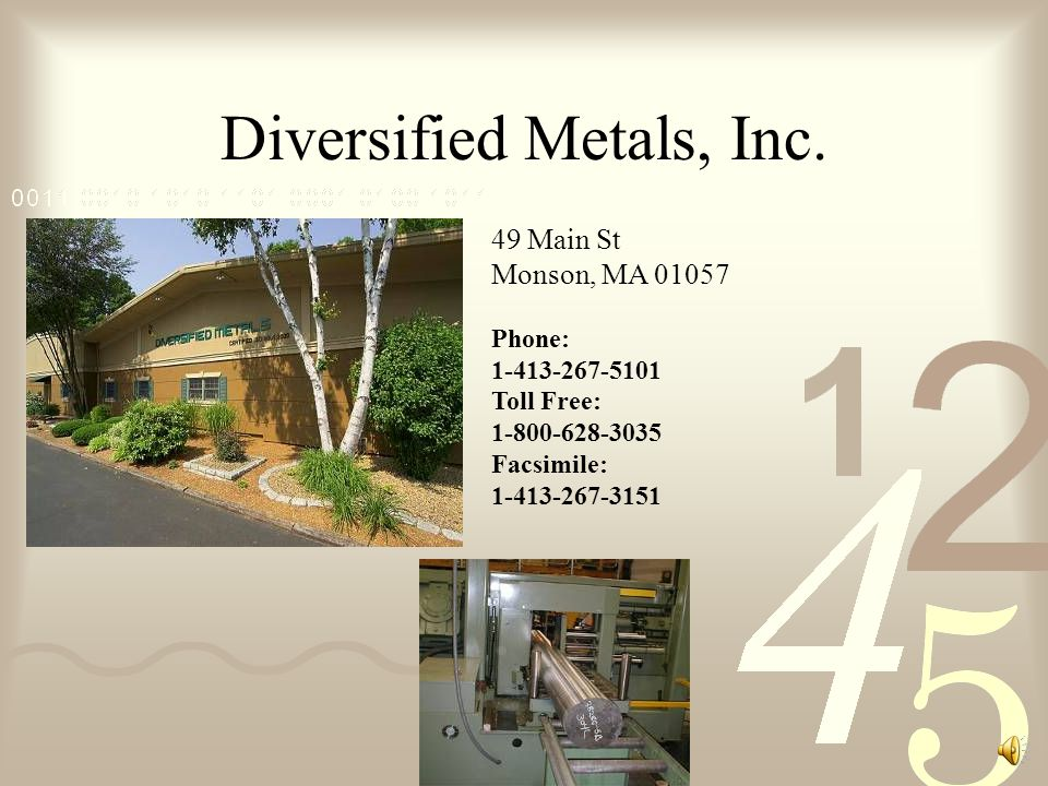 Diversified Metals, Inc.