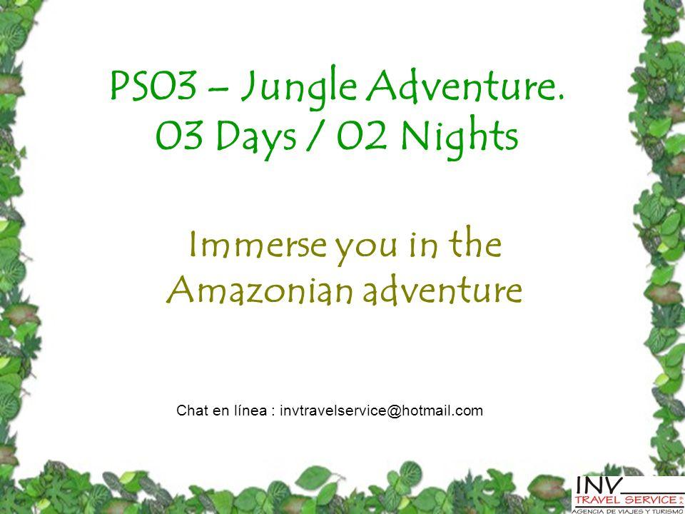 PS03 – Jungle Adventure.