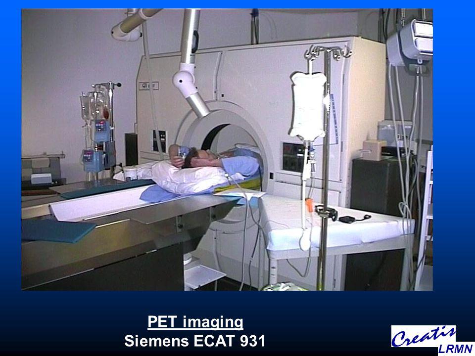 PET imaging Siemens ECAT 931 LRMN