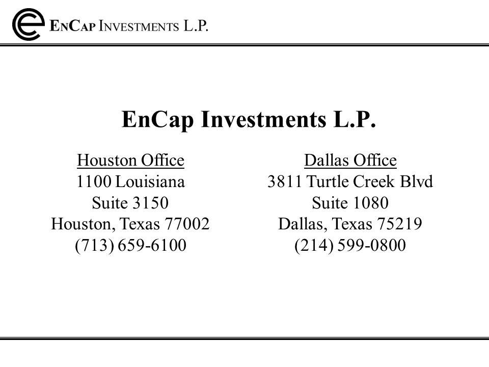 EnCap Investments L.P.