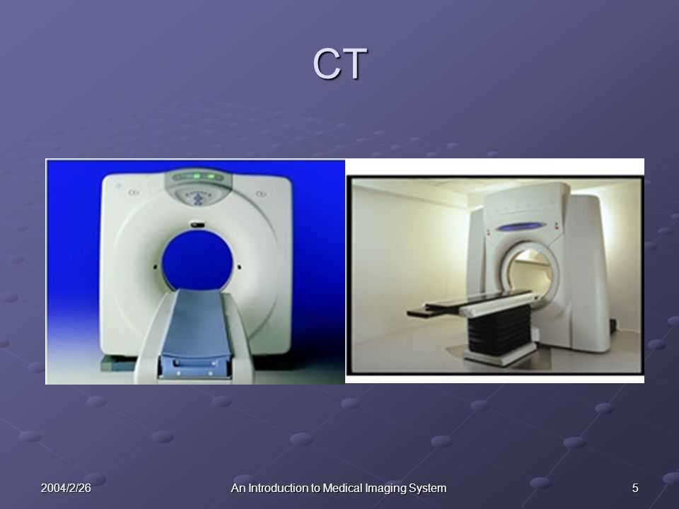 62004/2/26An Introduction to Medical Imaging System CT