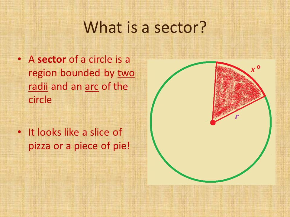 What is a sector.