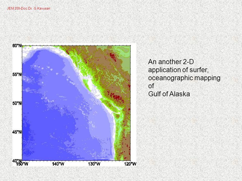 To change contour line properties: 1.Double-click the contour map to open the map properties.
