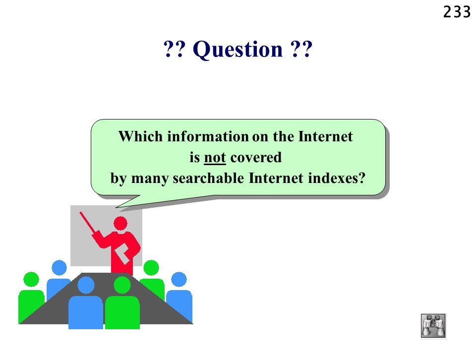233 . Question .