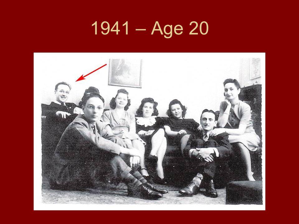 1941 – Age 20