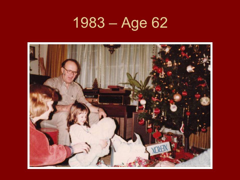 1983 – Age 62