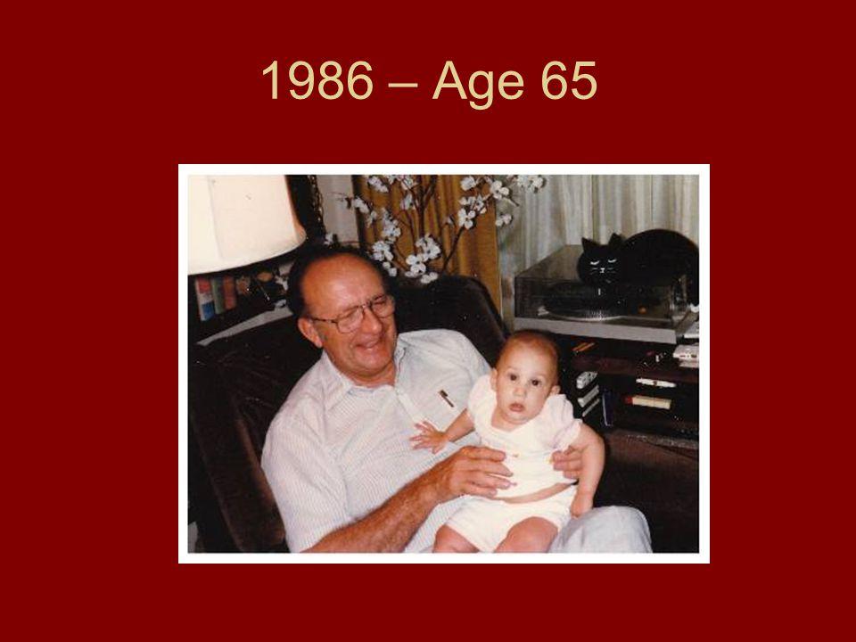 1986 – Age 65