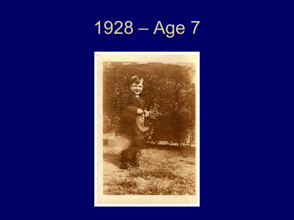 1928 – Age 7