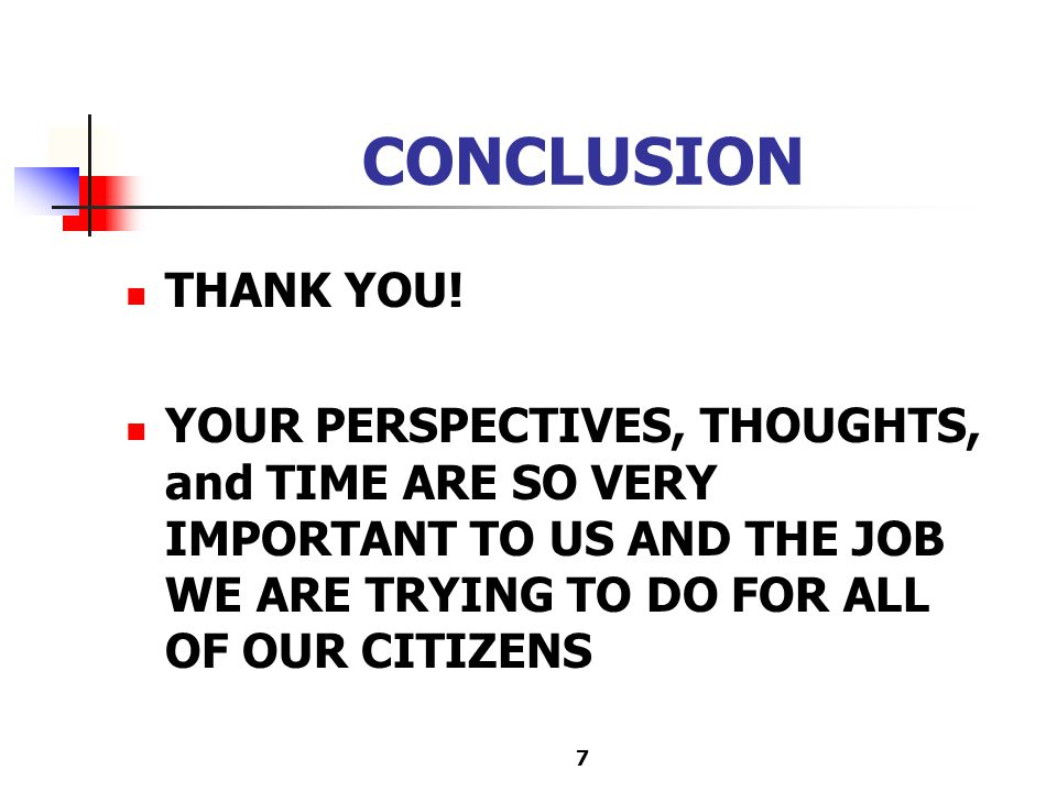 7 CONCLUSION THANK YOU.