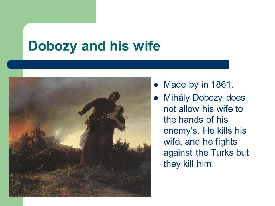 Dobozy and his wife Made by in 1861.