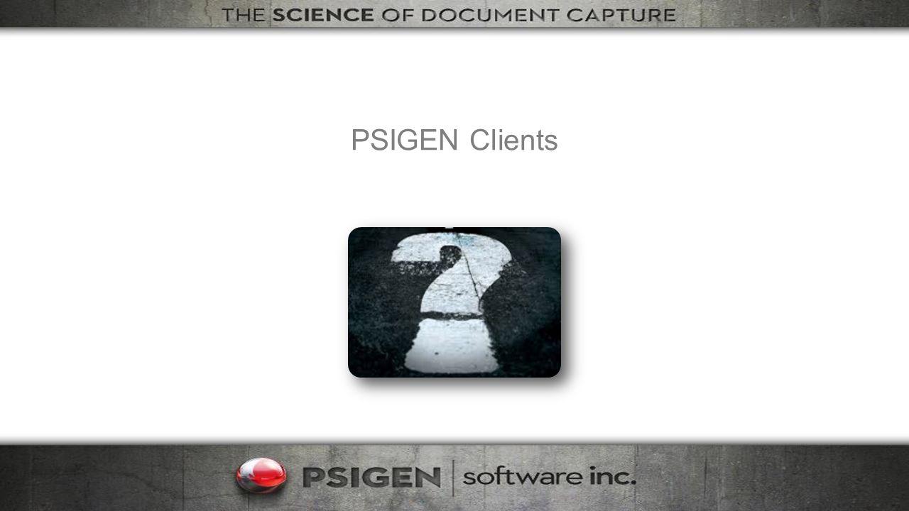 PSIGEN Clients