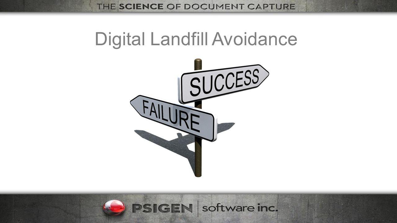 Digital Landfill Avoidance