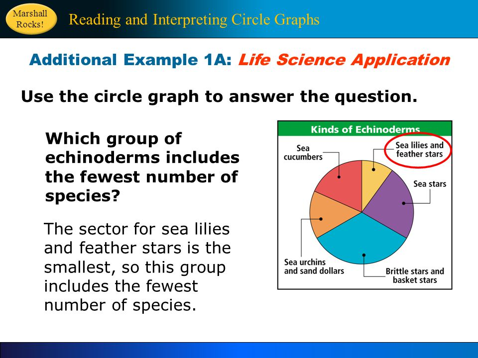 Use the circle graph to answer the question.