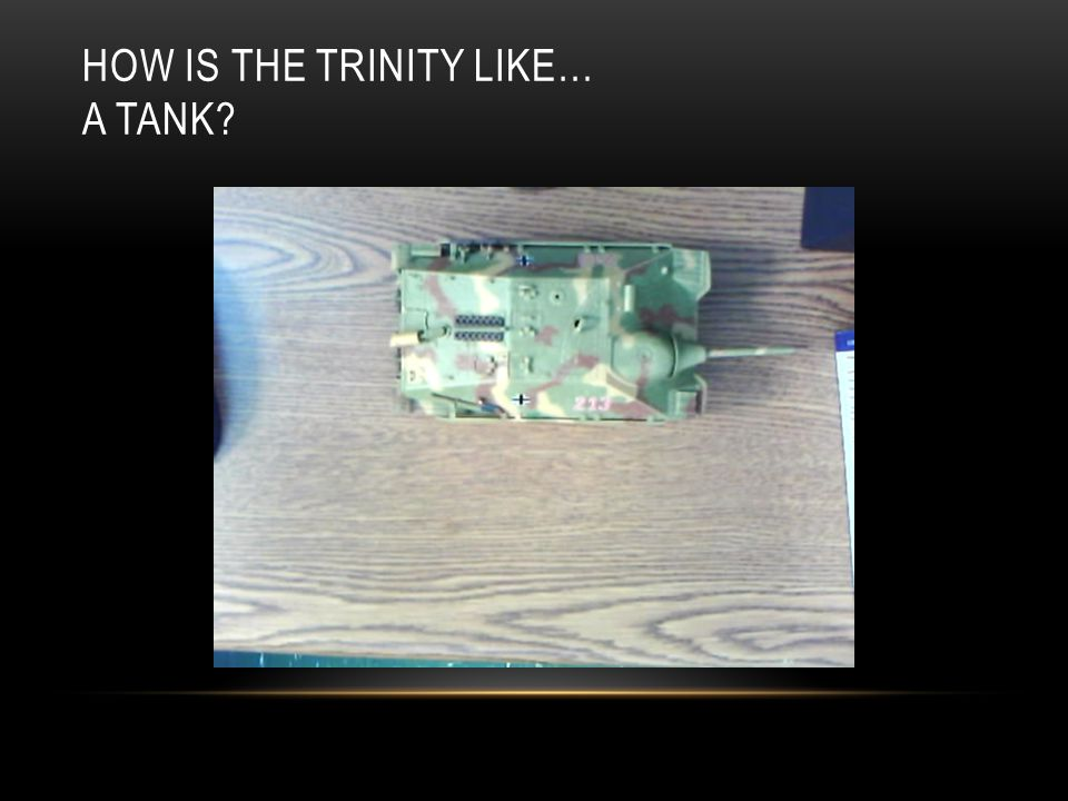 HOW IS THE TRINITY LIKE… A HAIR CLIP?