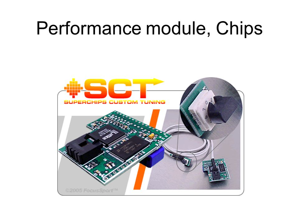 Performance module, Chips