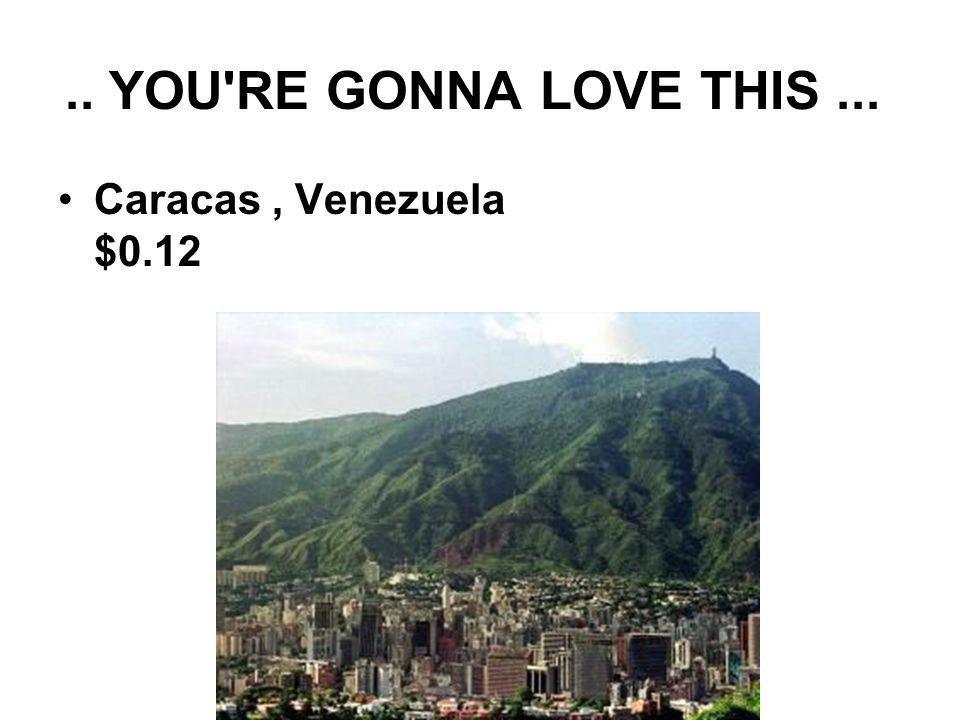 .. YOU RE GONNA LOVE THIS... Caracas, Venezuela $0.12