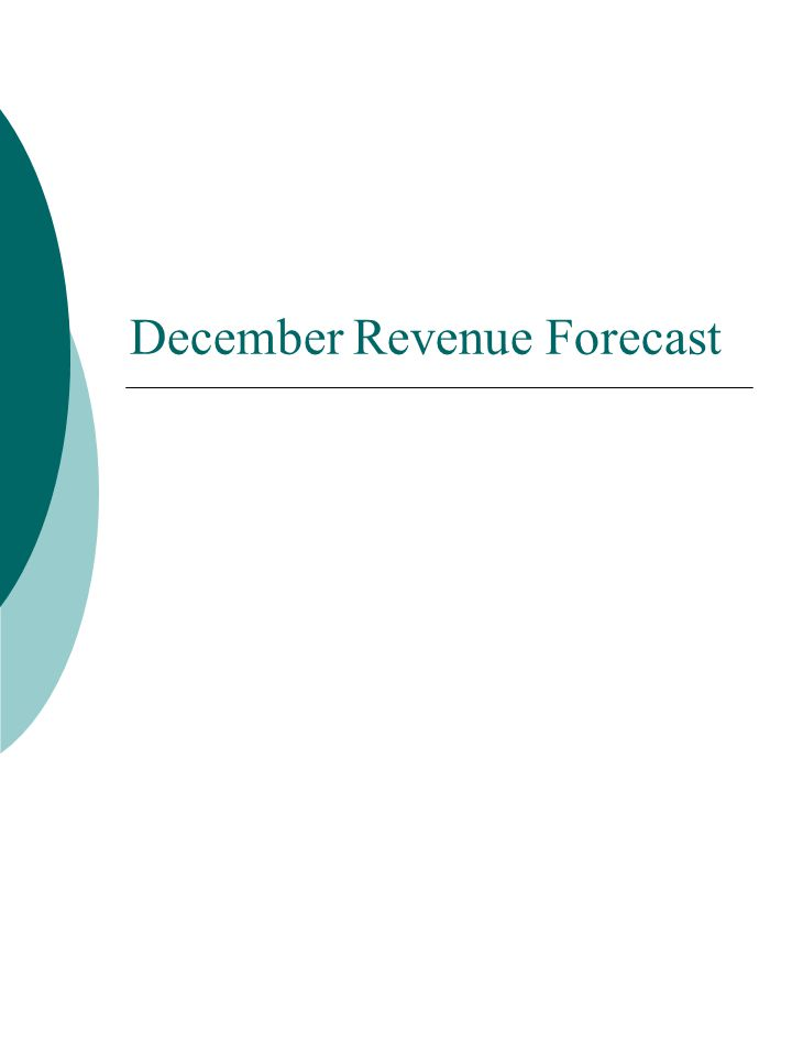 December Revenue Forecast