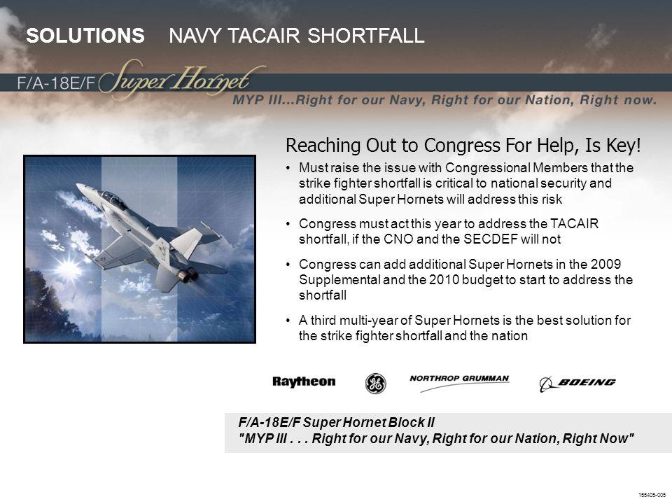 155405-005 F/A-18E/F Super Hornet Block II