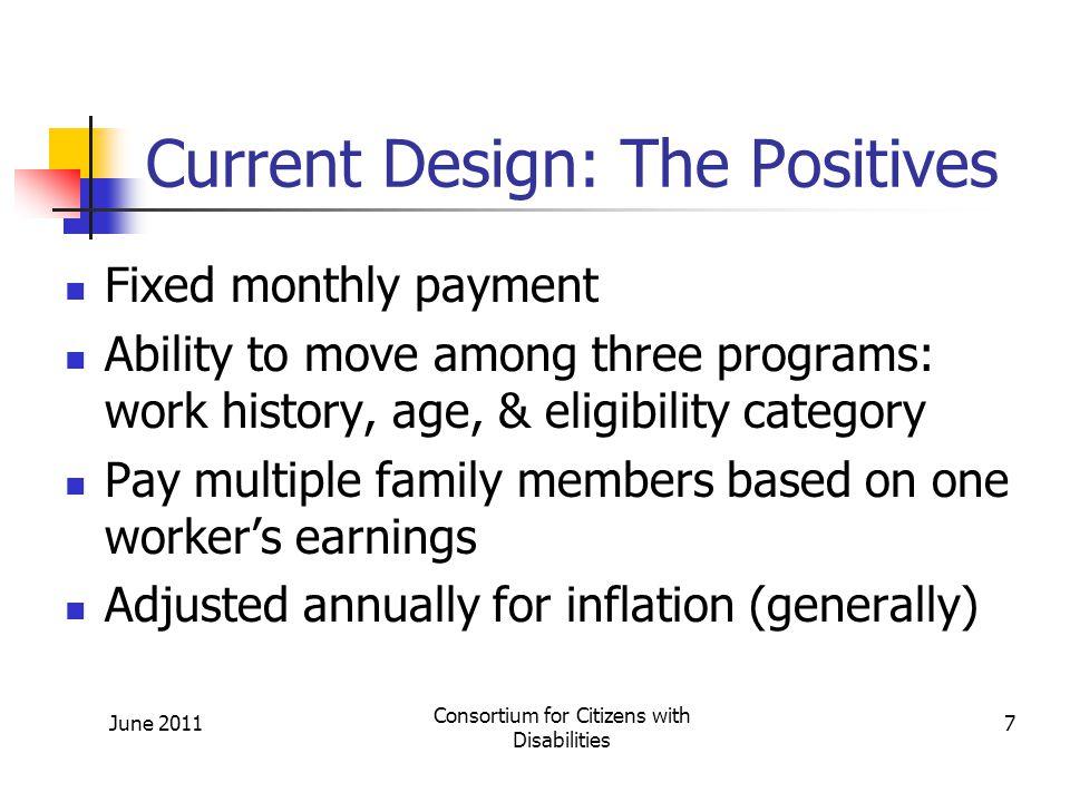 Proposals to Address Long-Term Solvency: Revenue Enhancements June 2011 Consortium for Citizens with Disabilities 48