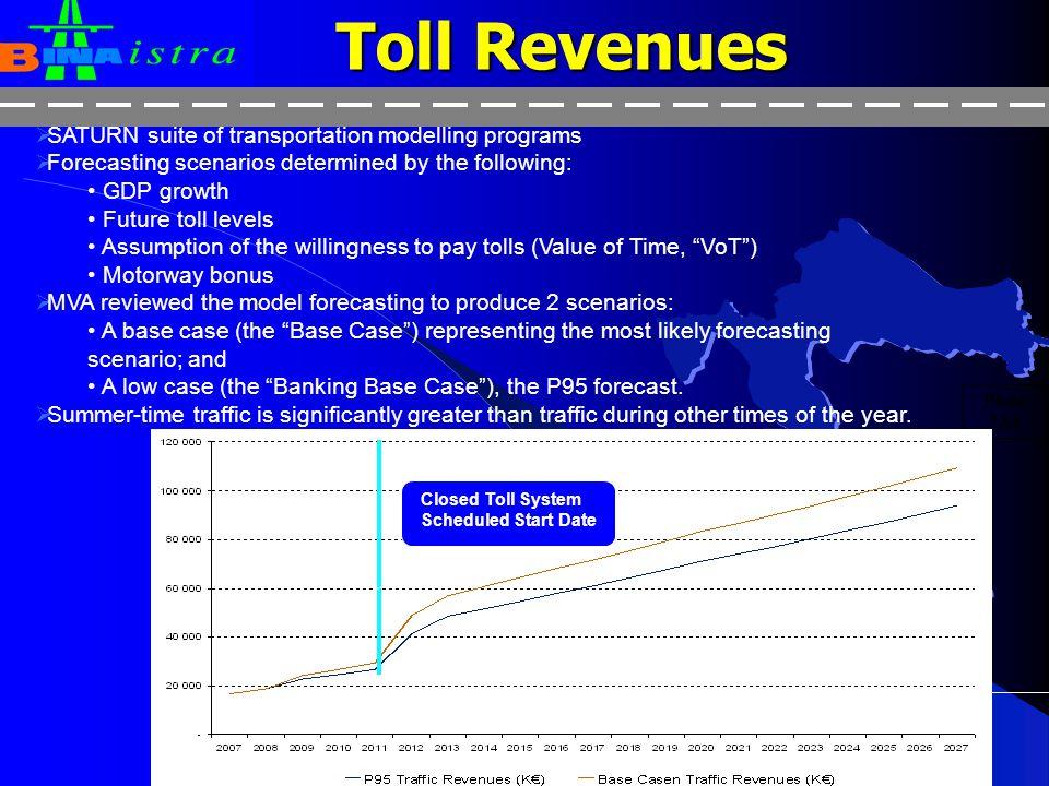 7 Toll Revenues Phase 2A4  Učka  Kanfanar-Pula