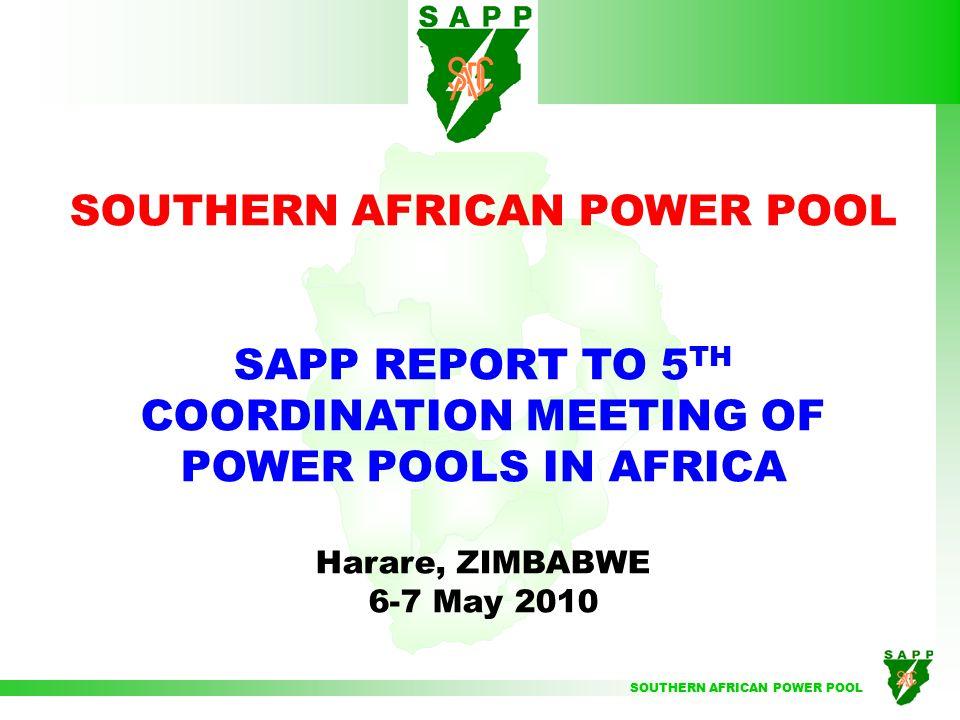 SOUTHERN AFRICAN POWER POOL BURKINA FASO INTERCONNECTING POWER POOLS IN AFRICA SAPP SOMALIA CONGO ALGERIA MOROCCO TUNISIA MAURITANIA GUINEE SENEGAL GAMBIA SIERRA LEONE LIBERIA LESOTHO SWAZILAND MOZAMBIQUE MADAGASCAR MALAWI TANZANIA KENYA OUGANDA R.