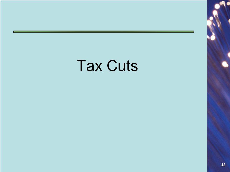 32 Tax Cuts