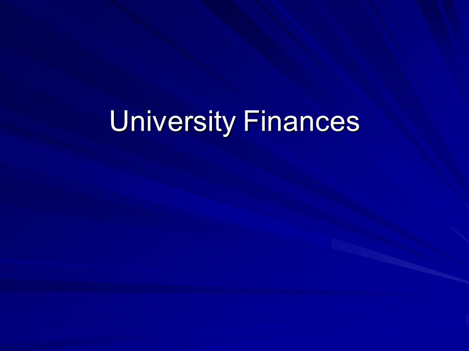 Total University Budget Educational & General Component 59% Endowment Component 9% Research Component 20% Auxiliary Component 12% $846.7M + 6.8% University Finances FY03/04 Total University Budget $1.44B $176.6M + 2.2% $129.1M – 1.0% $292.2M + 12.6% $1.44B + 4.7% or $63M