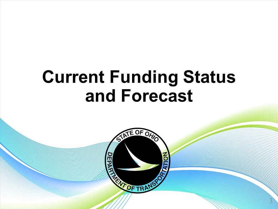 Current Funding Status and Forecast 3