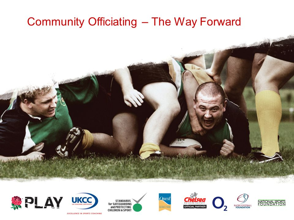 Community Officiating – The Way Forward