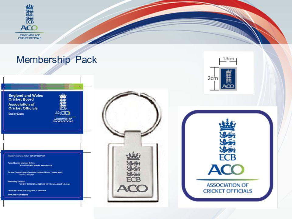 Dates Membership Cards 1.Previous ECB OA members – 2 nd May 2.