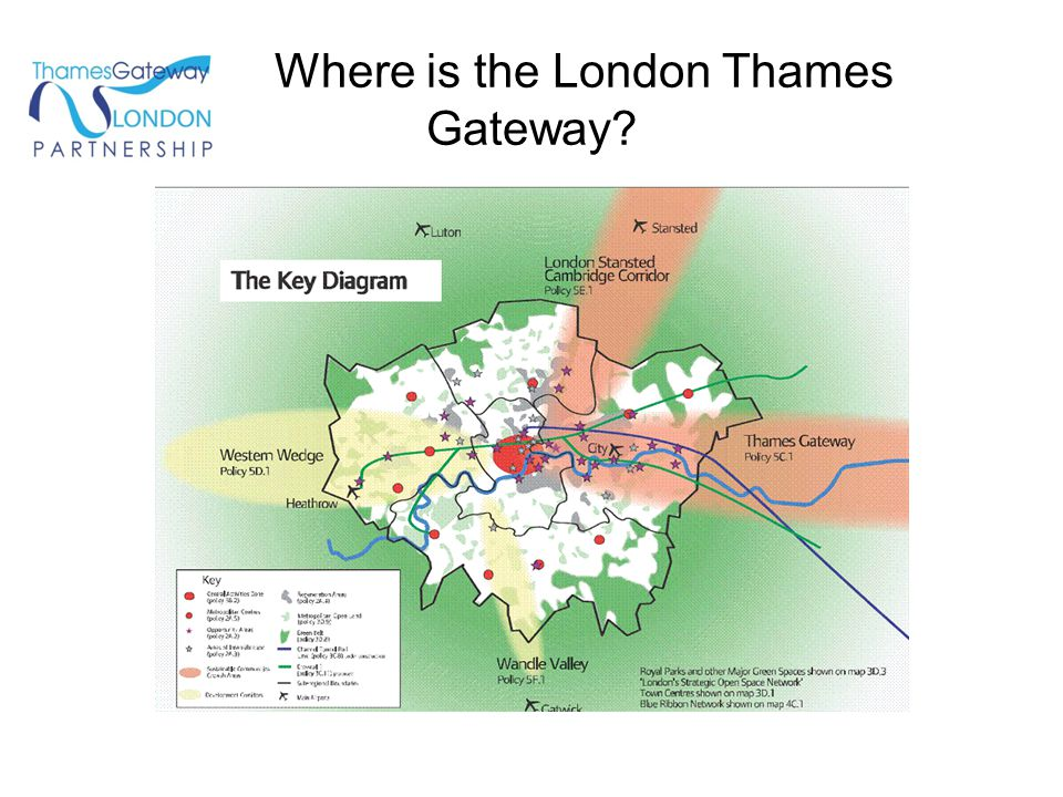Where is the London Thames Gateway?