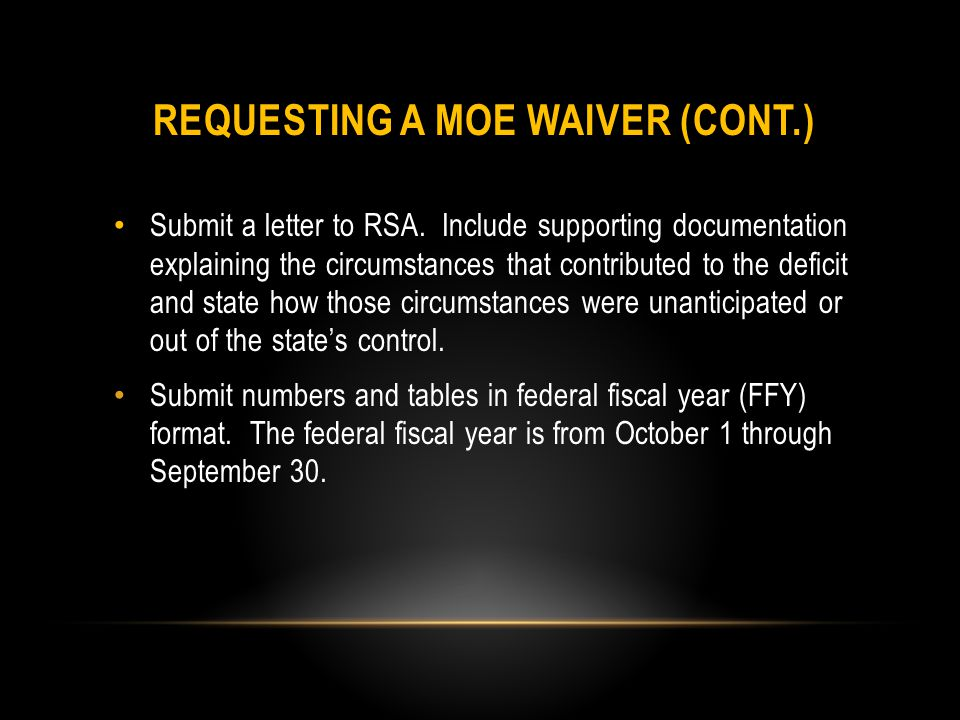 Submit a letter to RSA.