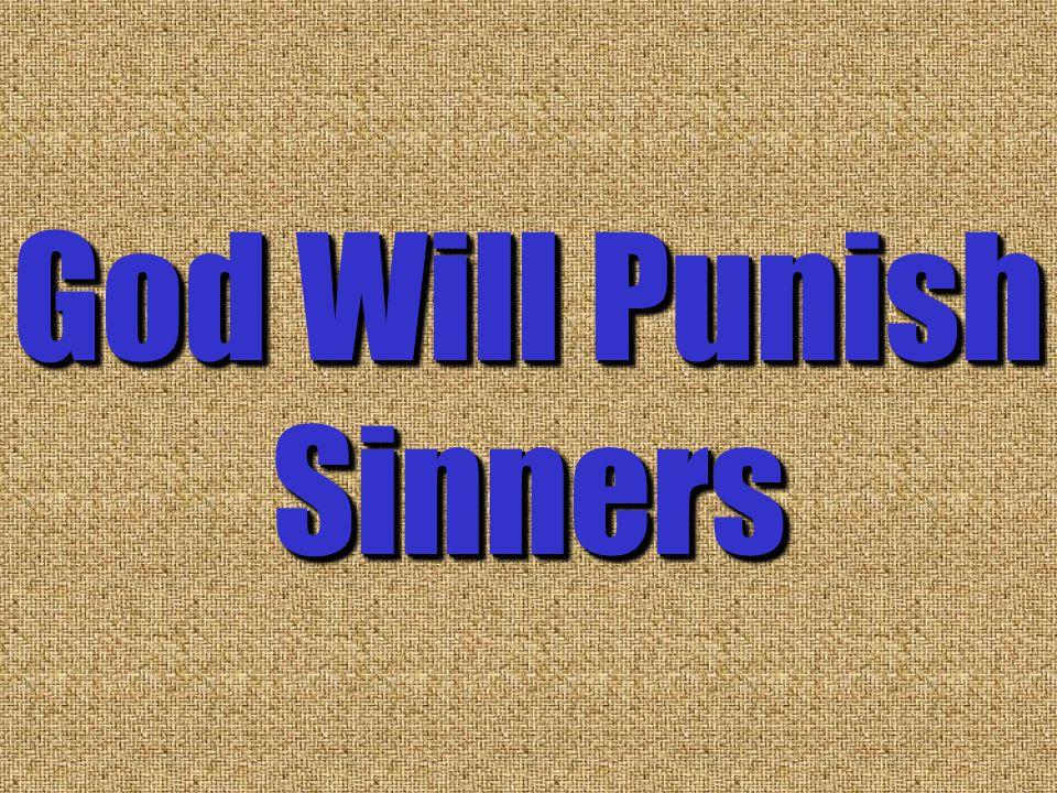 God Will Punish Sinners