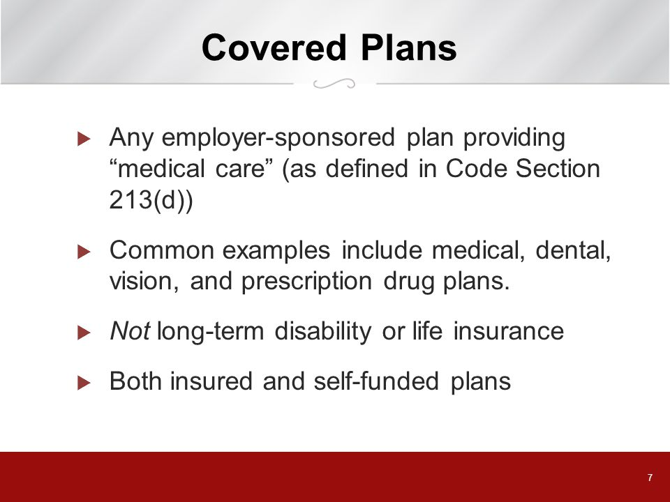 38 Changes to COBRA Coverage  Open Enrollment Rights – Must be offered to COBRA beneficiaries on same basis as active employees  If active employees may add dependents outside of annual enrollment period, COBRA beneficiaries must have same right  HIPAA special enrollment rules apply to COBRA beneficiaries