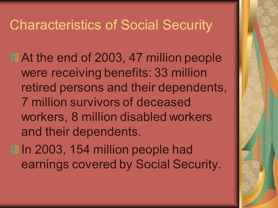 Social Security Shortfall Social Security Trustees 2004 estimate.