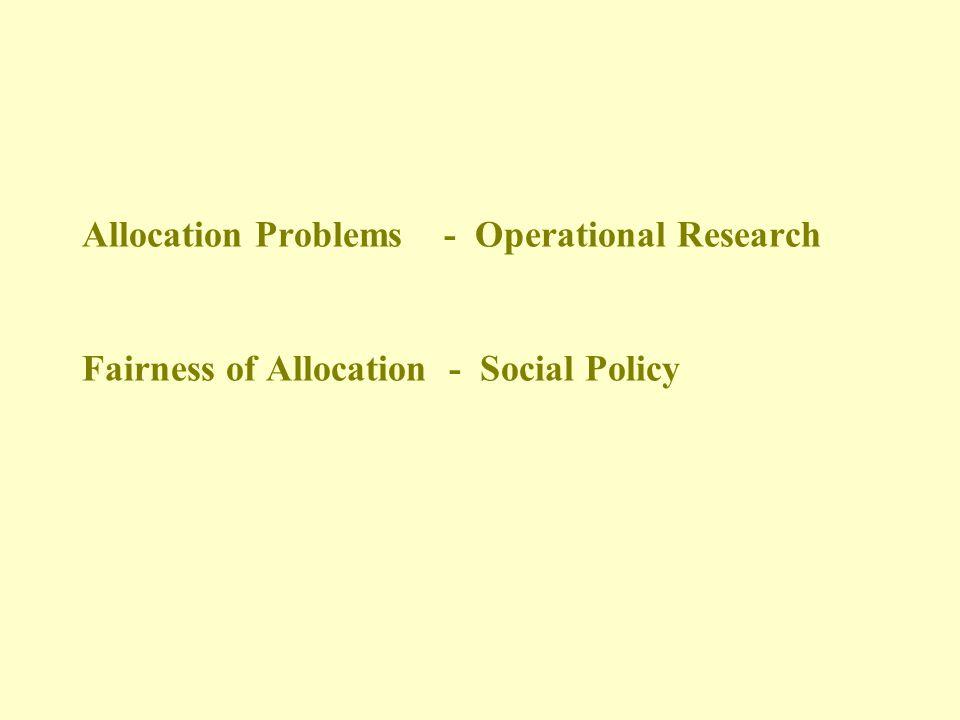 Fair Approach? Maximise Minimum shortfall of desirable QALYs over whole population