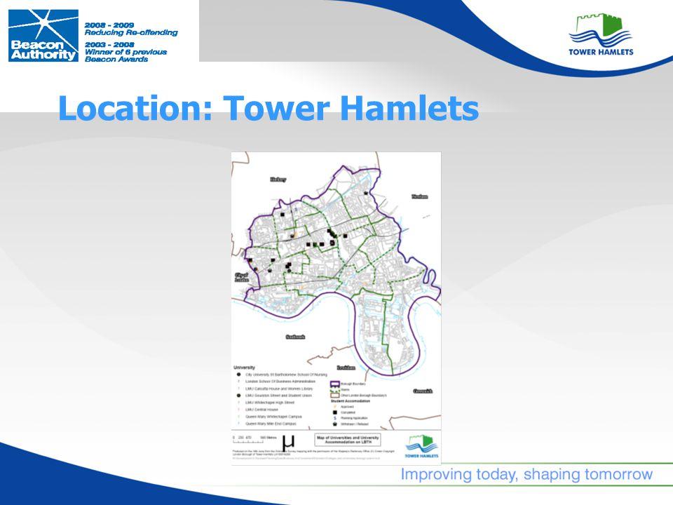 Location: Tower Hamlets
