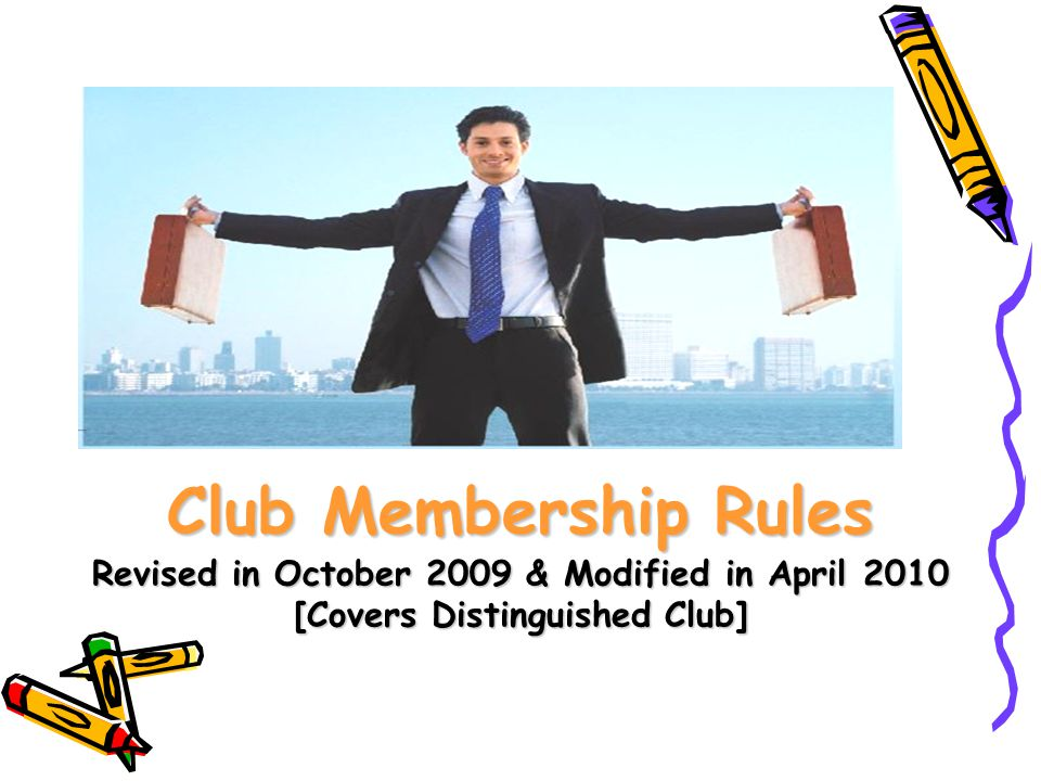 How an agent can become a club member .The Agent to follow a simple formula for 3 years only.